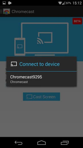 How to mirror your Android screen to your TV via Chromecast