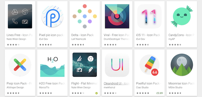 android change app icon