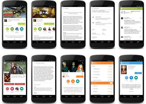 New look Material Design Play Store app begins roll out today