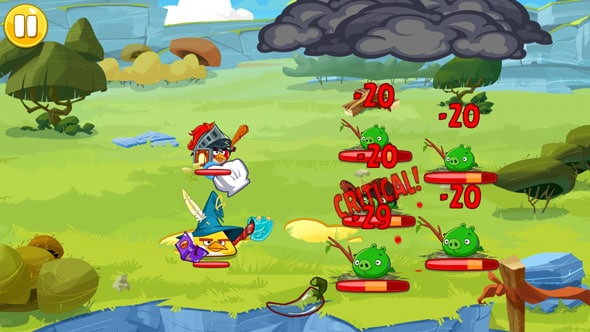 Angry birds epic battle
