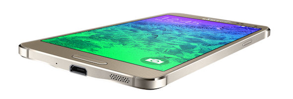 The Samsung Galaxy Alpha has mid-range specs, but is Samsung's first phone made (partly) from metal