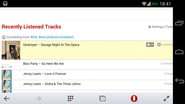 WAIL is the best new app for last fm scrobbling with any