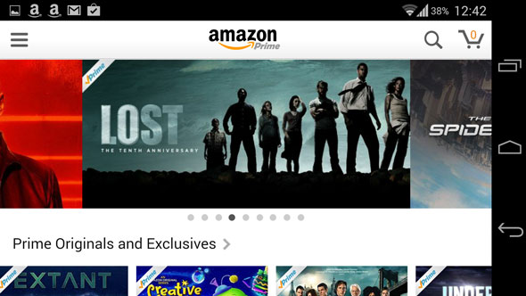 watch amazon instant video on android phone days ago Amazon