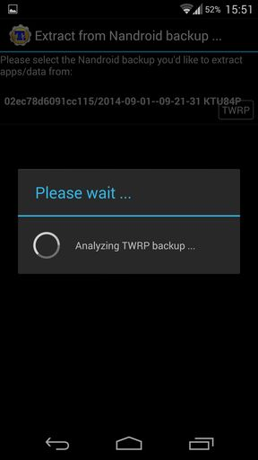 Analysing twrp