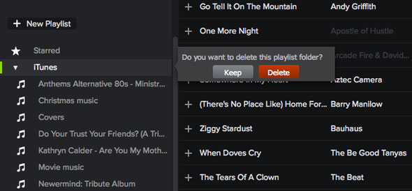 Import your iTunes smart playlists into Spotify and Spotify