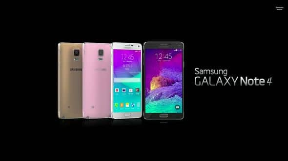 Note 4 lineup