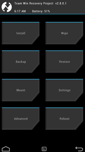 twrp the complete guide to using recovery on android. Black Bedroom Furniture Sets. Home Design Ideas
