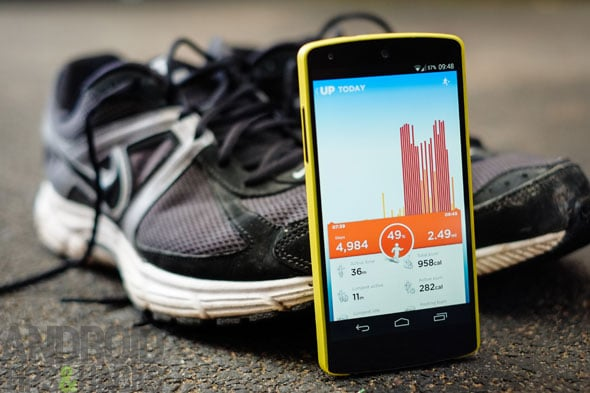 Up android nexus fitness