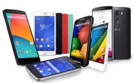 group-of-android-phones