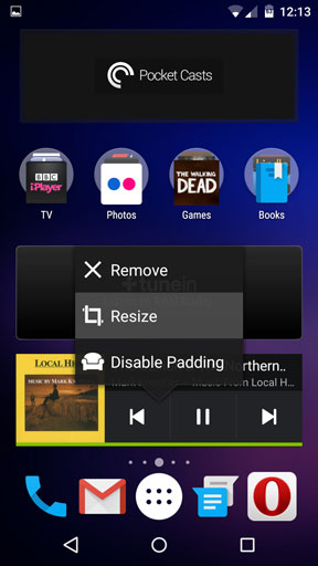 Resize any widget