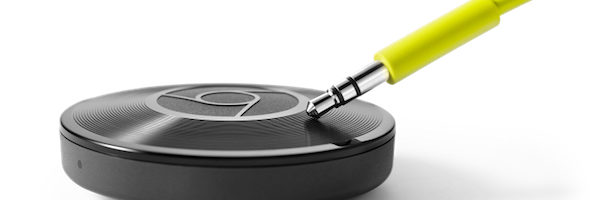 chromecast audio side